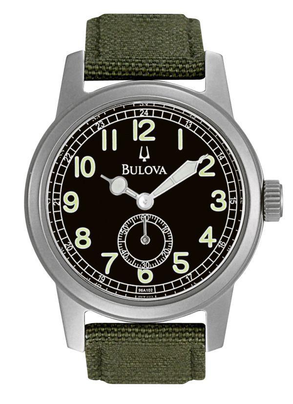 The $150 Bulova Hack Military Style Watch   bulova