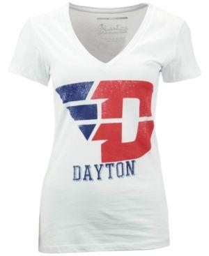 Royce Apparel Inc Women's Dayton Flyers Charlie T-Shirt - White XL
