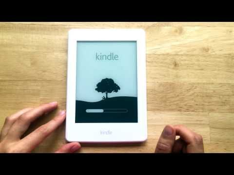 Kindle Paperwhite Unboxing (Reup) - YouTube