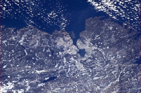Halifax NS, on a crystal clear day. The type of city where you can easily see why sailors would have settled there.