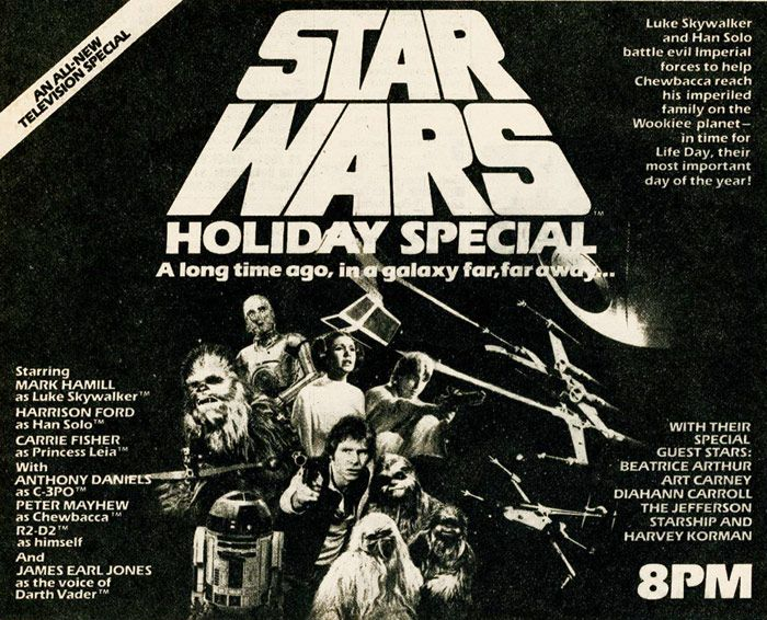 Crazy Eddie's Motie News: Vox explains how 'The Star Wars Holiday Special' c...