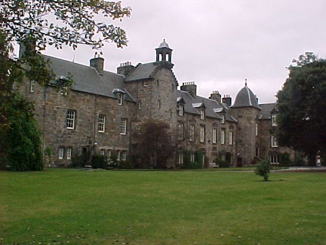 St Mary's College, home of the Faculty and School of Divinity within the University of St Andrews, in Fife, Scotland - in full, the New College of the Assumption of the Blessed Virgin Mary.