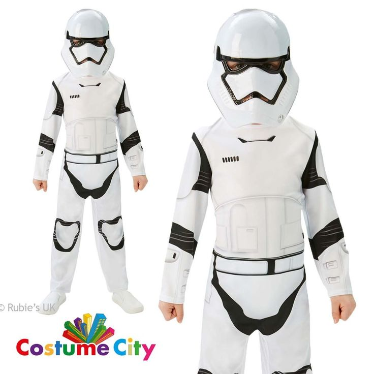 Childs Boys Official Star Wars Force Awakens Stormtrooper Fancy Dress Costume in Clothes, Shoes & Accessories, Fancy Dress & Period Costume, Fancy Dress | eBay