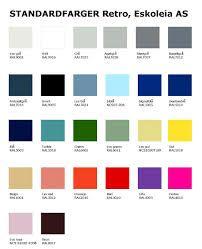 Bilderesultat for design retro fargekart