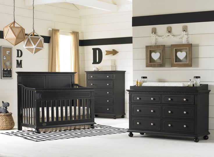 Giveaway: Crib U0026 Dresser From Dolce Babi. Black Nursery FurnitureBlack ...