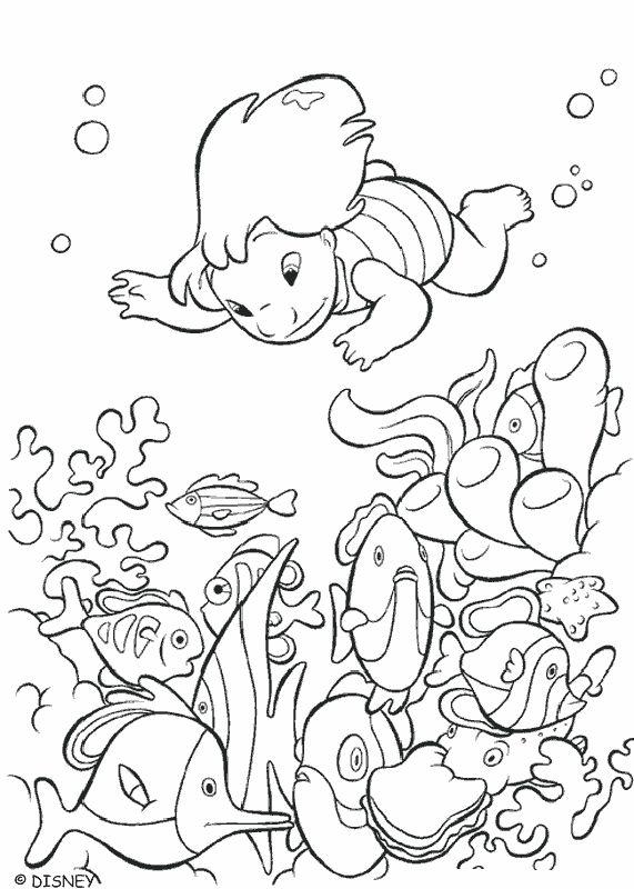 Mejores 19 imágenes de Lilo and Stitch ~ Disney Coloring Pages en ...