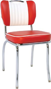 Red and White Handle back Retro dining Chair 133 best Retro Dreams images on Pinterest   Retro kitchens  Retro  . Red Retro Diner Chairs. Home Design Ideas