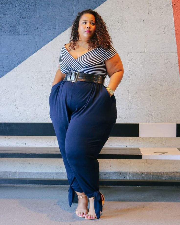 GarnerStyle   The Curvy Girl Guide: Alluring Nautical