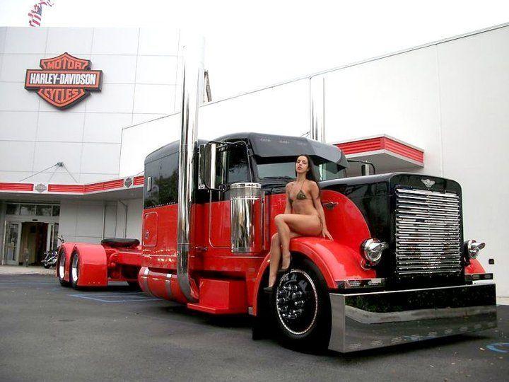 3567 best Ladies & Big Trucks, Equipment images on ...