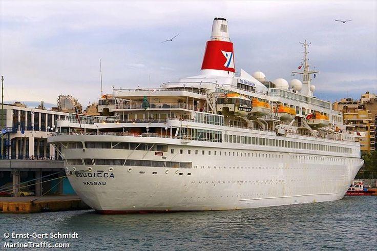 Το Boudicca πλευρισμένο στον Πειραιά. 28/09/2015.
