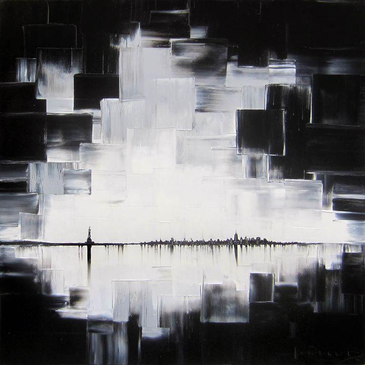 Tonight is a lucky night par Joëlle Blouin, artiste présentement exposée aux Galeries Beauchamp. www.galeriebeauchamp.com