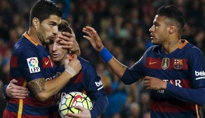 Barcelona hajar Sevilla di leq pertama Piala Super Spanyol