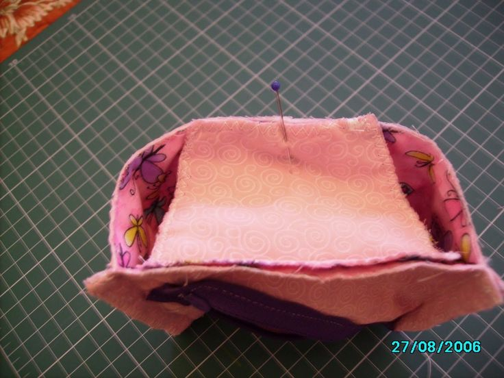 The famous Japanese bag. Japanese Pouch Tutorial