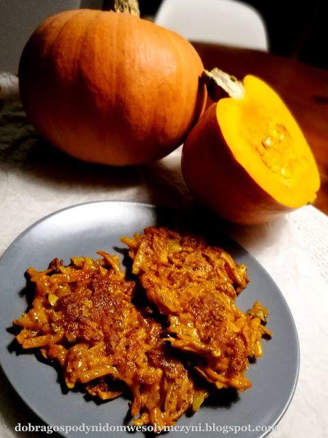 dobra gospodyni dom wesołym czyni: Proste placki dyniowe z nasionami chia