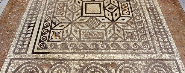 Los mosaicos geométricos de The Verulamium Museum, St Albans, en Inglaterra. | Matemolivares