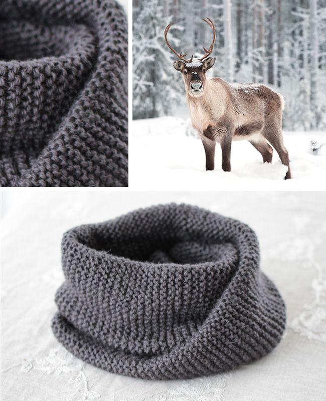 Gratis mønster! To nye halser i Fin til jul - Design by Marte Helgetun