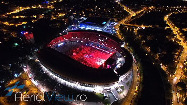 Aerial View UNTOLD Festival Cluj - http://www.aerialview.ro