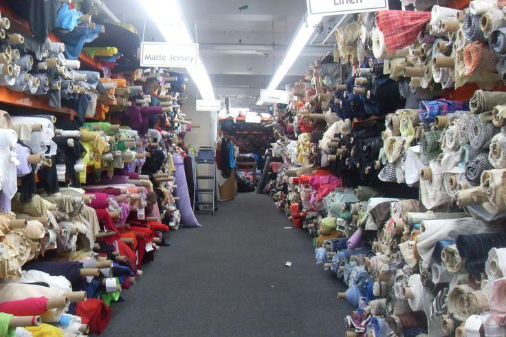 Mood Fabric Store NYC