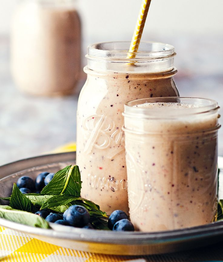 Banana & Blueberry Smoothie. A perfect way to kick start your day.  http://www.woolworths.com.au/wps/wcm/connect/Website/Woolworths/FreshFoodIdeas/Recipes/Recipes-Content/bananaandblueberrysmoothie  #Woolworths #recipe #smoothie