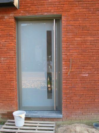 aluminium voordeur glas - Google zoeken