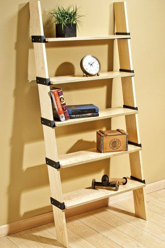Rockler I-Semble Ladder Shelving Brackets Shelf Unit