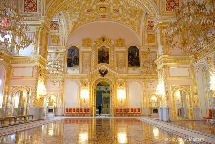 Grand Kremlin Palace Interior | inside Grand Kremlin Palace, Moscow - ID: 13049851 © Sibylle G ...