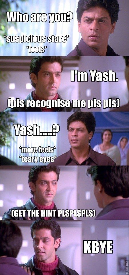 "Here Is An Accurate And Honest Summary Of ""Kabhi Khushi Kabhie Gham"""