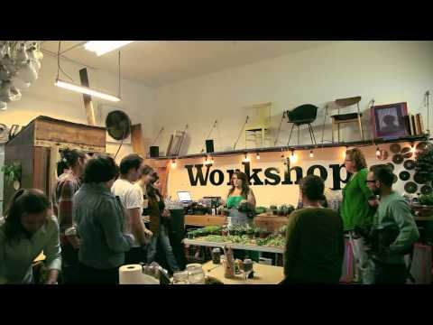 """""""People see your passion and enthusiasm for what you do, and they can tell if it's genuine."""" Kelly Malone, Workshop SF entrepreneur extraordinaire! #diy"""