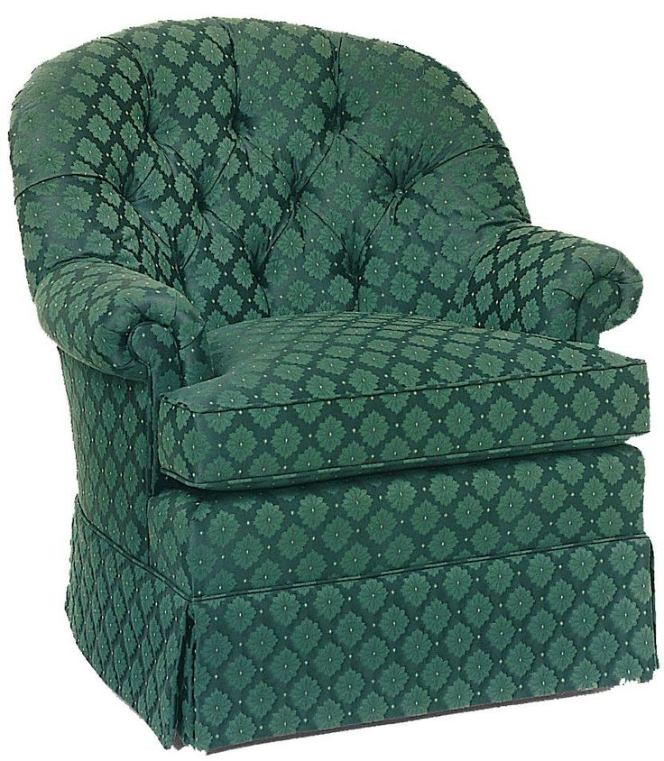 Swivel Accent Chairs Upholstered Swivel Rocker With Tufted