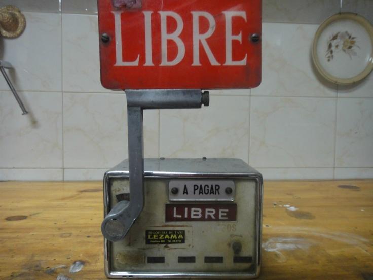 Vintage taxi meter