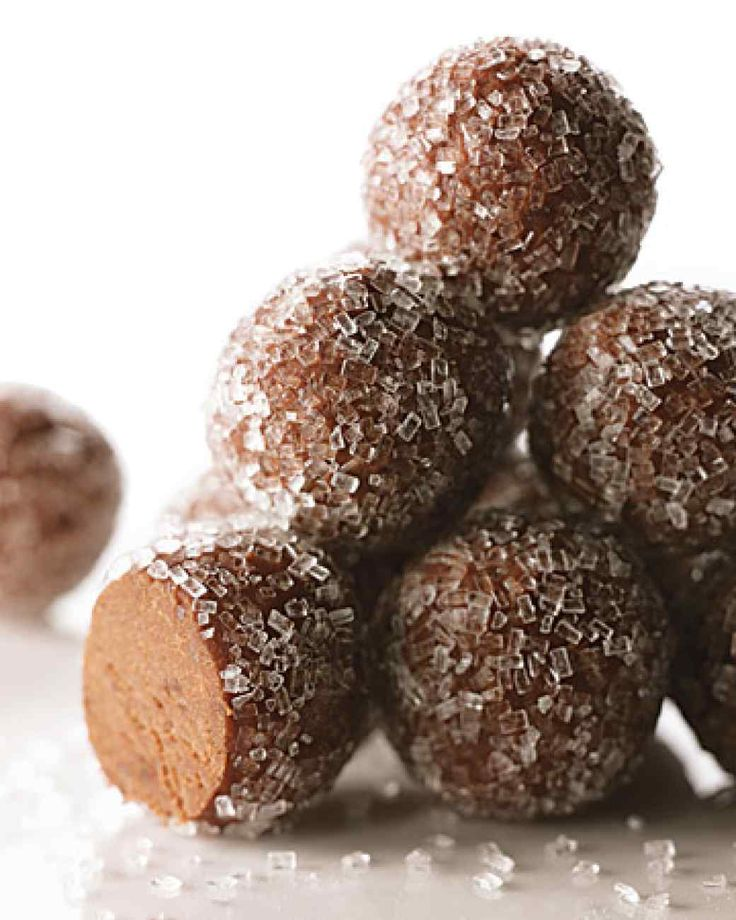 Rum Balls - very different recipe compared to my grandmother's - but sounds yummy!