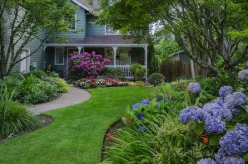 Front Yards Driveways Landscaping Idea