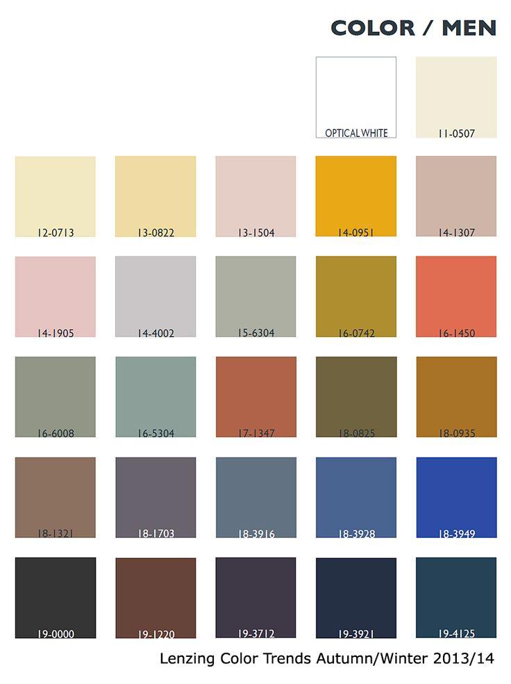 Lenzing Color Trends Autumn/Winter 2013/14 | Color Usage - Menswear | Fashion Trendsetter