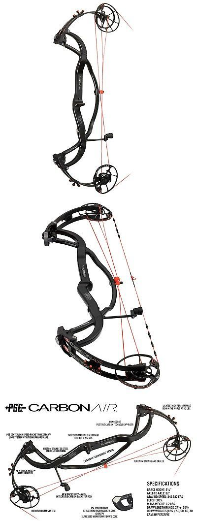 Compound 20838: New 2017 Pse Carbon Air Hdcam Compound Bow 65# Right Hand Black W Country Limbs -> BUY IT NOW ONLY: $999.99 on eBay!