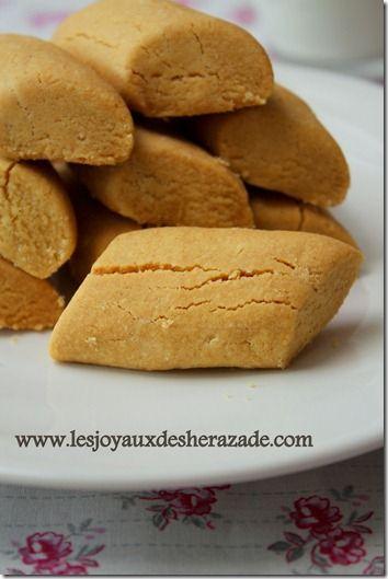 Ghribia tunisienne / Ghribia à la farine de pois chiches