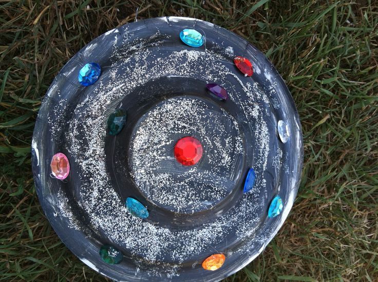 how to make a flying saucer for kids