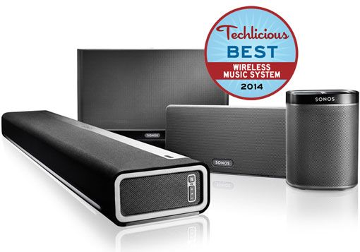 The Best Wireless Music System: Sonos Wireless HiFi System
