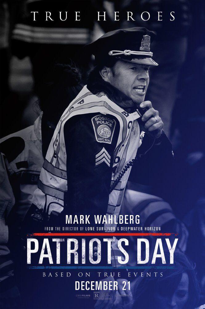 Starring Mark Wahlberg, John Goodman, J.K. Simmons | Drama, History, Thriller | Patriots Day (2016)