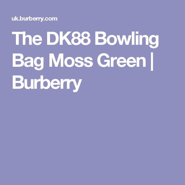 The DK88 Bowling Bag Moss Green | Burberry