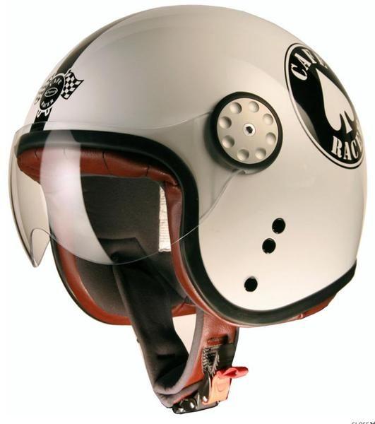 cafe racer helmets | Project Cafe Racer Top Gun Jet Helmet Pik - FC-Moto Shop