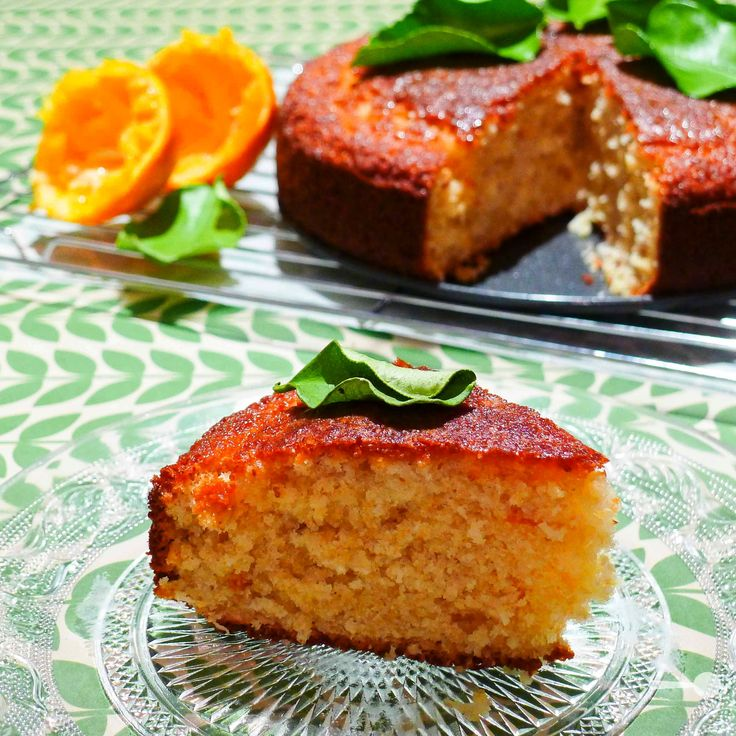 Wholemeal, coconut and marmalade cake