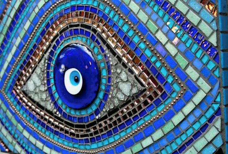 Quot Evil Eye Quot Stained Glass Amp Mosaics Pinterest