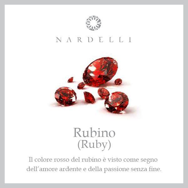 Regalare un #rubino è simbolo di un amore passionale che brucia in eterno...