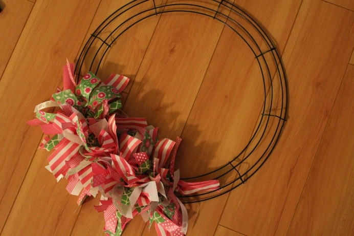 DIY Ribbon Wreath - I shall make one for every day of the year!!