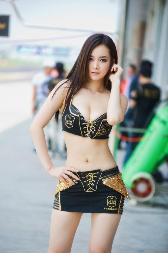 Asian racing super models