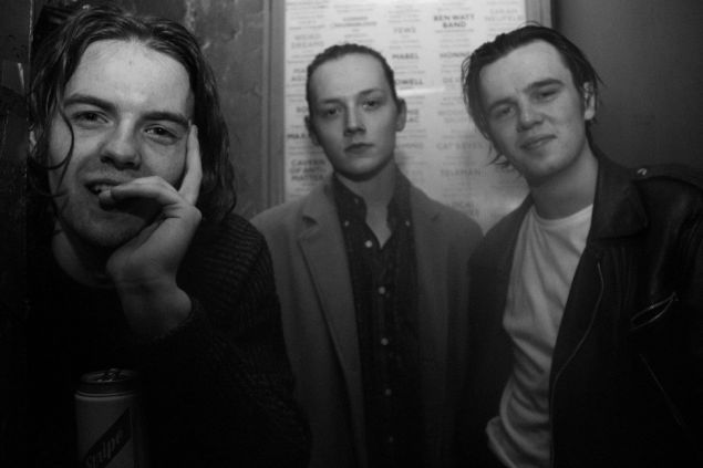 The Blinders February 2017 UK tourWithGuitars
