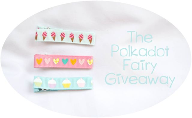 Our Holly Days: The Polka Dot Fairy Giveaway