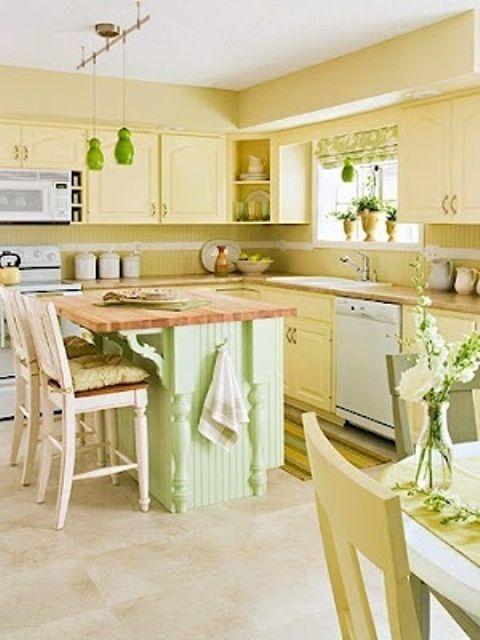 51 best Kitchen images on Pinterest | Yellow kitchens, Kitchen ...