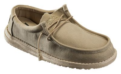Hey Dude Wally Canvas Shoes for Men - Oat - 10M
