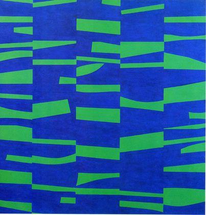 Meshers, Ellsworth Kelly (nacido en 1923). Escultor y pintor abstracto…